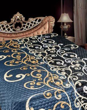 Одеяло-покрывало искусственный шёлк