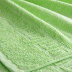 Полотенце гладкокрашенное высокая петля 470 гр/м2, арт. 601 салатовый - 40h70sm